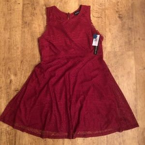 NWT lace skater dress